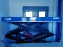 Platforma nożycowa hydrauliczna wielonożycowa