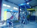 Platformowa wielonożycowa platforma hydrauliczna