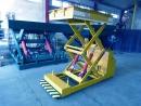 Platformowa wielonożycowa platforma hydrauliczna przejezdna