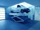 Platformowa wielonożycowa platforma hydrauliczna samochodowa